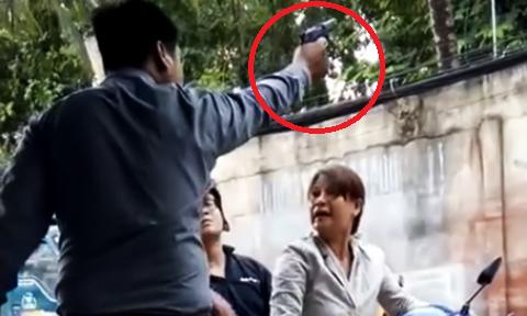 TP. HCM: Giám đốc nổ súng uy hiếp phụ nữ có thẻ công an giả - Ảnh 1