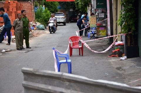 Bị bạn nhậu đâm chết gần trụ sở công an phường - Ảnh 1