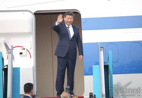Chủ tịch Trung Quốc Tập Cận Bình lên máy bay rời Hà Nội - Ảnh 3