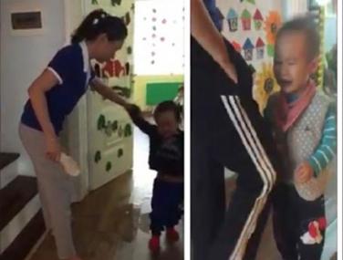 Hà Nội: Phạt tiền 2 cô giáo cầm dép đánh trẻ mầm non - Ảnh 1