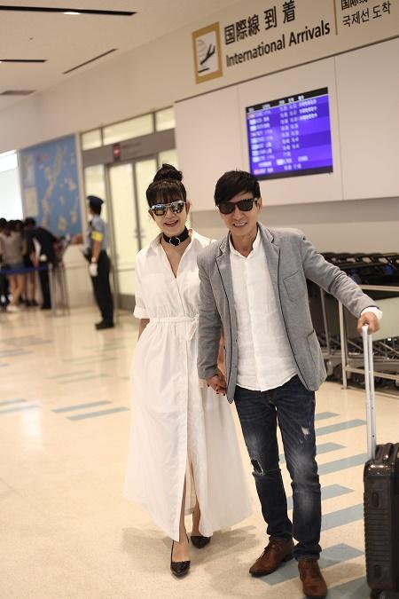 Vợ chồng Lý Hải tươi tắn lên đường sang Nhật Bản tham dự Liên hoan phim Quốc tế - Ảnh 4