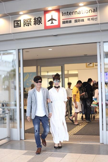 Vợ chồng Lý Hải tươi tắn lên đường sang Nhật Bản tham dự Liên hoan phim Quốc tế - Ảnh 5