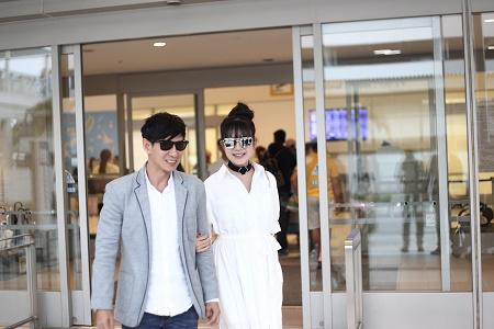 Vợ chồng Lý Hải tươi tắn lên đường sang Nhật Bản tham dự Liên hoan phim Quốc tế - Ảnh 6