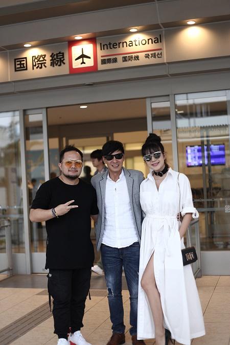 Vợ chồng Lý Hải tươi tắn lên đường sang Nhật Bản tham dự Liên hoan phim Quốc tế - Ảnh 7