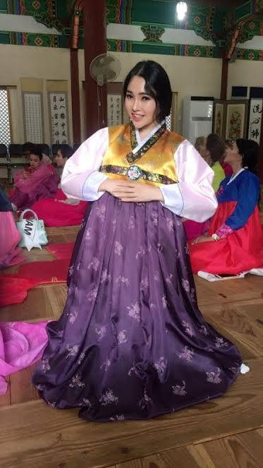 Những hoạt động nổi bật của Hoa khôi Tài năng Lương Thái Trân tại Hoa hậu siêu Tài năng Thế giới 2017 - Ảnh 4