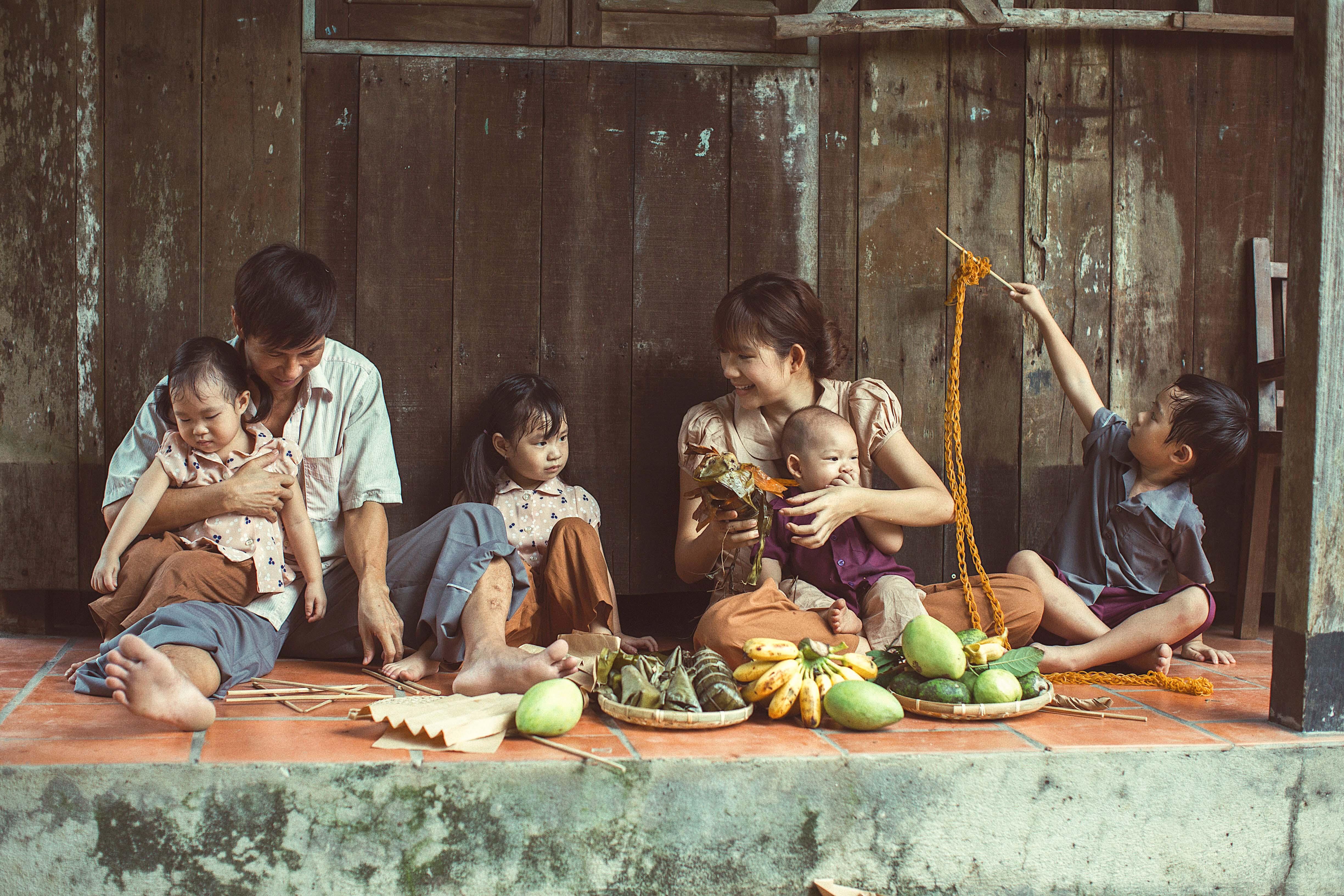 Ngây ngất bộ ảnh gia đình nông dân của Lý Hải – Minh Hà - Ảnh 9
