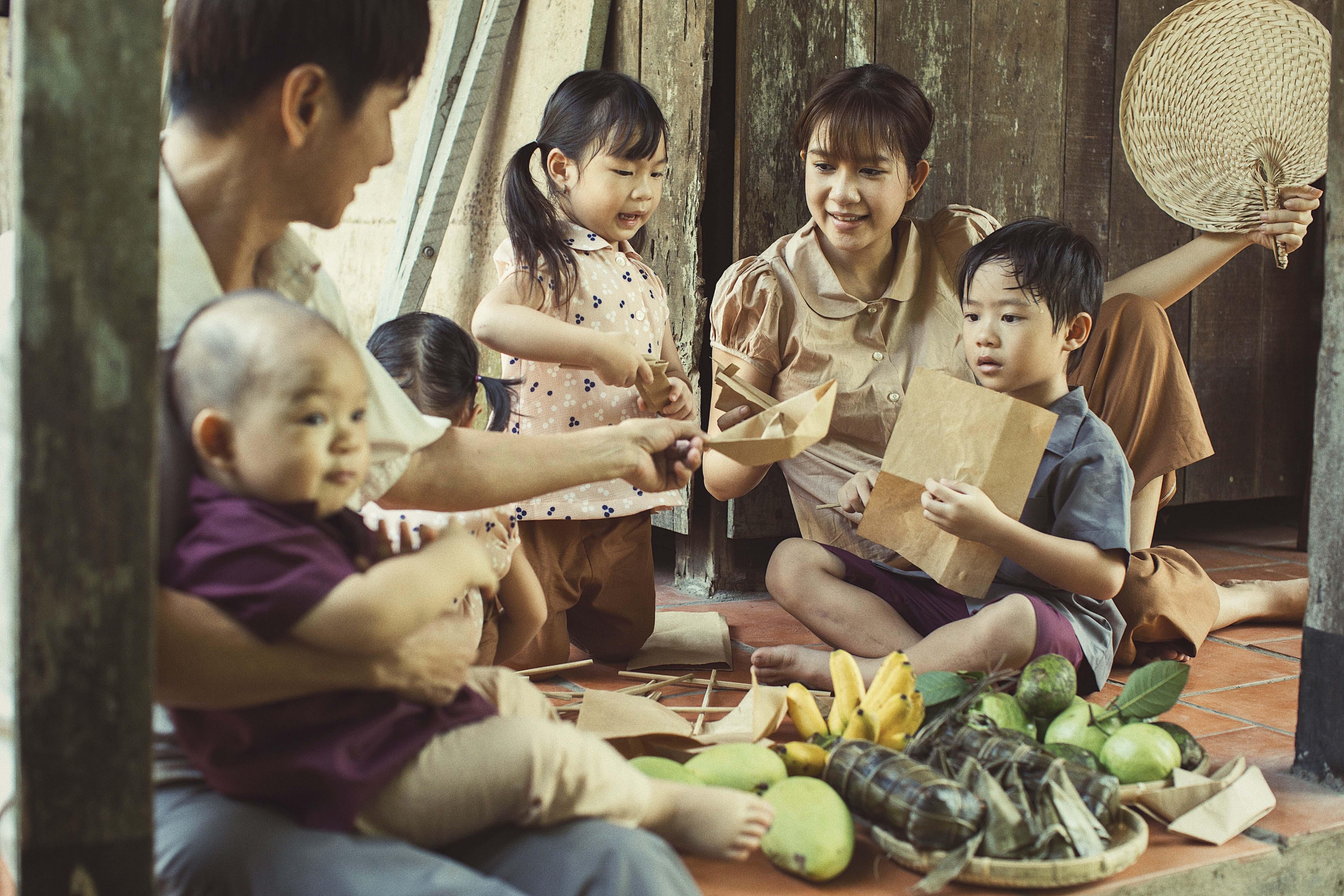 Ngây ngất bộ ảnh gia đình nông dân của Lý Hải – Minh Hà - Ảnh 5