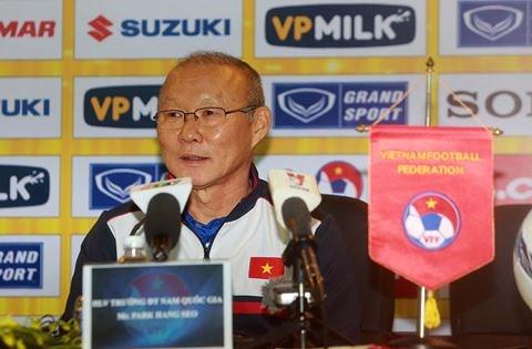 HLV Park Hang Seo gửi lời cảm ơn tới bầu Đức - Ảnh 1