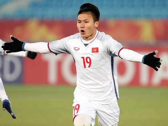 Bàn thắng đẹp nhất VCK U23 châu Á: Quang Hải không có đối thủ - Ảnh 1
