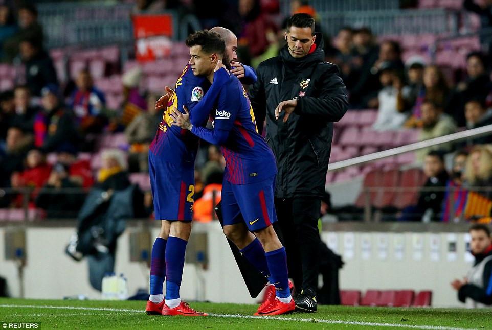 Clip: Suarez tỏa sáng, Barcelona đánh bại Valencia 1-0 - Ảnh 2
