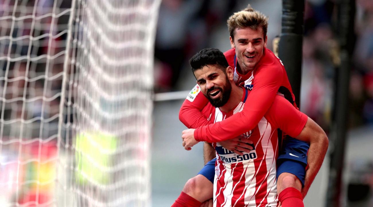 Highlights Sevilla 2-5 Atletico Madrid: Quyết tâm vô địch - Ảnh 1