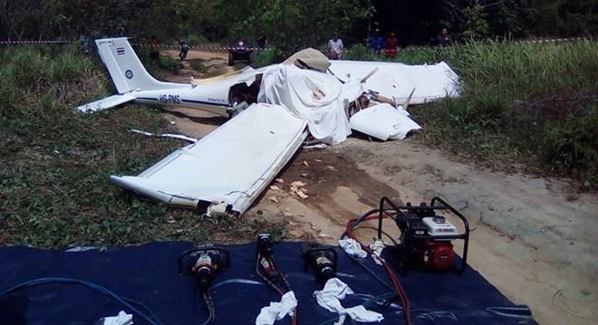 Thái Lan: Rơi máy bay ở Phuket, 4 người thương vong - Ảnh 1