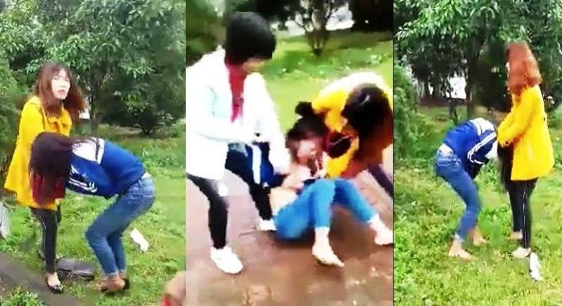 Hà Tĩnh: Nữ sinh bị đánh hội đồng, lột đồ tung clip lên mạng vì ghen - Ảnh 1