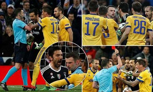 Bị loại đầy cay đắng, chủ tịch Juventus trút giận lên trọng tài - Ảnh 1