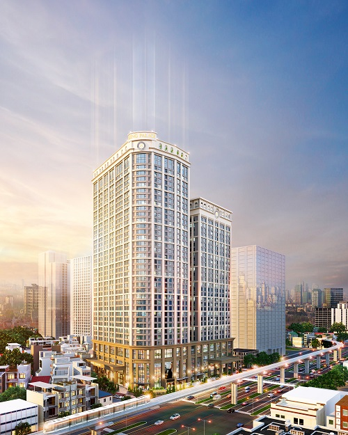 Dự án bất động sản được mong đợi nhất Hà Nội chuẩn bị ra mắt  - Ảnh 1