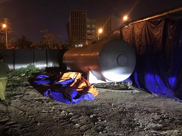 Hải Phòng: Triệt phá cơ sở sang chiết gas lậu lớn ngay gần trụ sở UBND quận - Ảnh 3