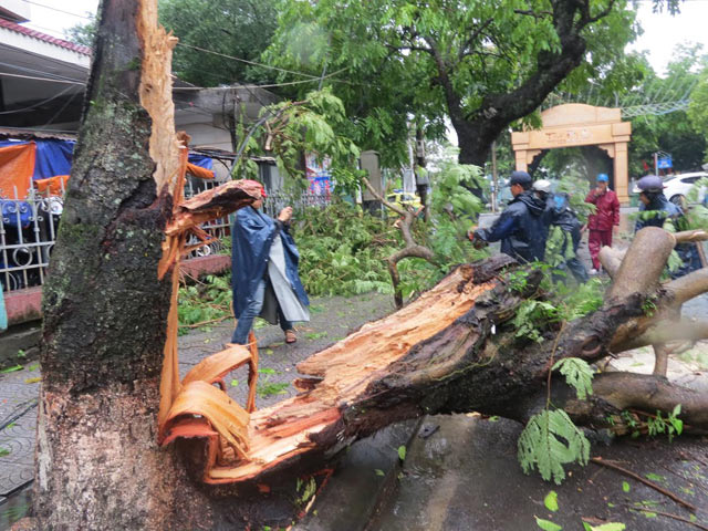 Áp thấp nhiệt đới vào miền Trung, 3 người chết và mất tích - Ảnh 1