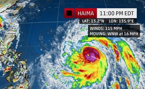 Philippines sẵn sàng đối phó siêu bão mạnh nhất trong 3 năm - Ảnh 1