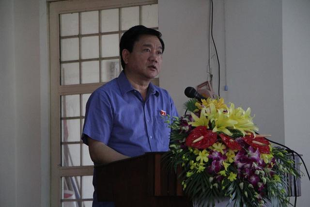 Bí thư Đinh La Thăng trả lời cử tri về vụ án Trịnh Xuân Thanh - Ảnh 1