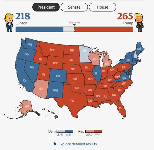 Donald Trump đắc cử Tổng thống Mỹ - Ảnh 2