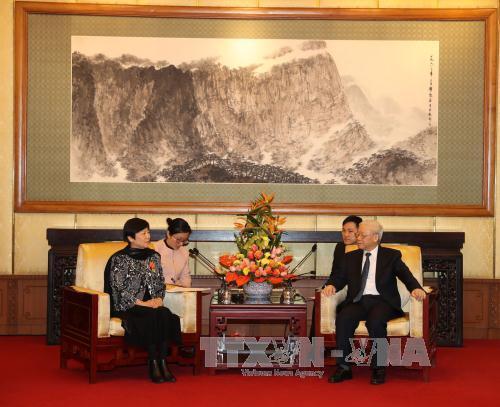 Tổng Bí thư tiếp đoàn đại biểu Hội Hữu nghị Đối ngoại Nhân dân Trung Quốc - Ảnh 2