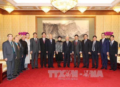 Tổng Bí thư tiếp đoàn đại biểu Hội Hữu nghị Đối ngoại Nhân dân Trung Quốc - Ảnh 4