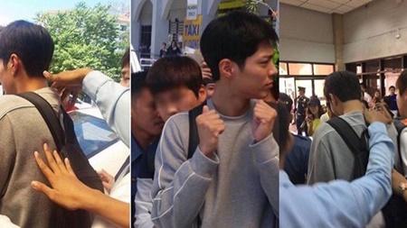 """Dàn sao """"Mây họa"""" khoe ảnh vi vu, Park Bo Gum khó chịu vì bị fan """"đụng chạm"""" - Ảnh 5"""