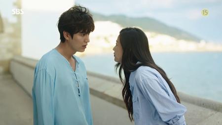 """Lee Min Ho khốn khổ vì bị """"tiên cá"""" Jun Ji Hyun đá văng 2 lần - Ảnh 2"""