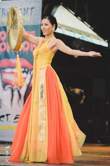 Hoa hậu Hòa bình Quốc tế 2016:Indonesia đăng quang, Nguyễn Thị Loan trượt Top 10 - Ảnh 9