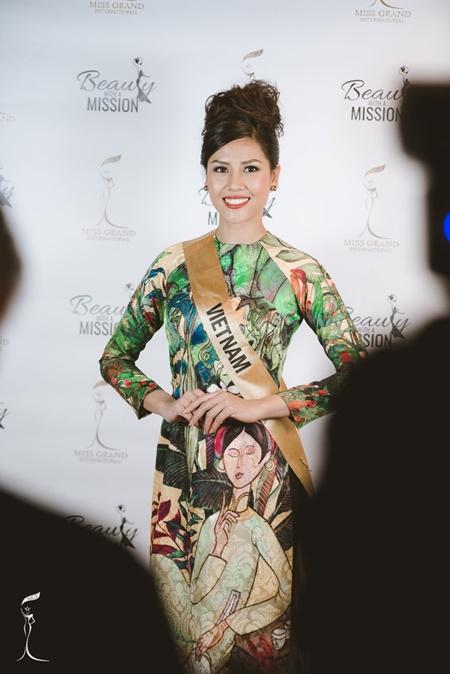 Hoa hậu Hòa bình Quốc tế 2016:Indonesia đăng quang, Nguyễn Thị Loan trượt Top 10 - Ảnh 11