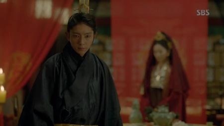 Người tình ánh trăng tập 18: Lee Jun Ki kết hôn với em gái cùng cha khác mẹ - Ảnh 17