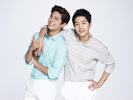 Song Joong Ki lấy Kim Yoo Jung ra để động viên Park Bo Gum - Ảnh 2