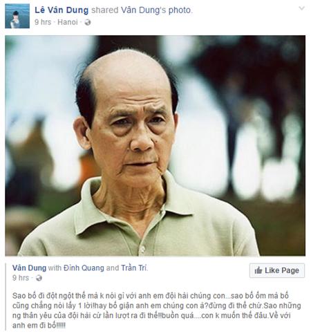 Nghệ sĩ Việt bàng hoàng trước sự ra đi của NSƯT Phạm Bằng - Ảnh 3