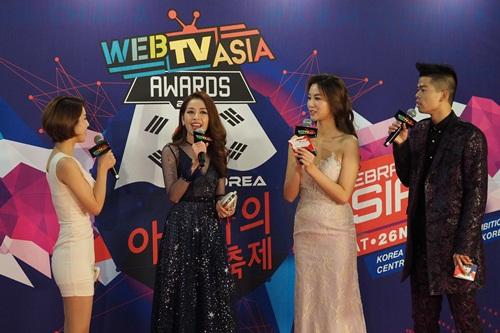 Chi Pu tham dự Webtasia Awards 2016, một lần nữa tự tin tỏa sáng ở xứ Hàn - Ảnh 2