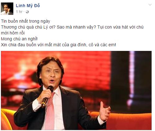 Nghệ sĩ Việt ngậm ngùi thương tiếc NSƯT Quang Lý - Ảnh 1