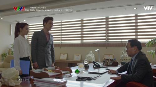 Tuổi thanh xuân phần 2 tập 12:Kang Tae Oh cứu Nhã Phương khỏi cái tát trời giáng - Ảnh 2