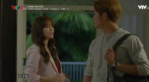 Tuổi thanh xuân phần 2 tập 13: Kang Tae Oh bất ngờ ôm lấy Nhã Phương - Ảnh 5