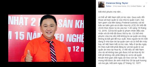 Minh Béo chính thức được thả tự do, có thể về Việt Nam trước Tết Dương lịch - Ảnh 1