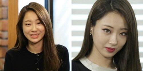 """Khuôn mặt """"một trời một vực"""" trước và sau trang điểm của nữ idol Kpop - Ảnh 2"""
