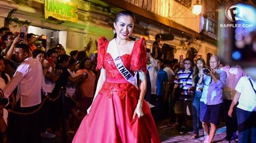 Cận cảnh màn trình diễn đầu tiên của Lệ Hằng tại Miss Universe 2016 - Ảnh 7