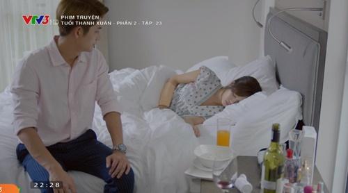 Tuổi thanh xuân phần 2 tập 23: Nhã Phương - Kang Tae Oh chung giường - Ảnh 14