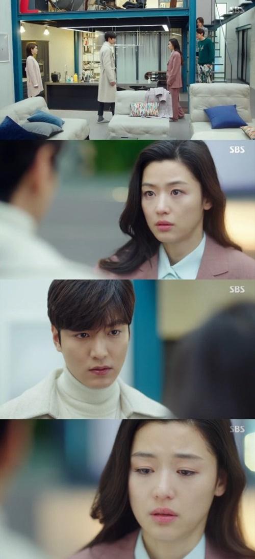 Huyền thoại biển xanh tập cuối viên mãn, Jun Ji Hyun mang thai - Ảnh 2