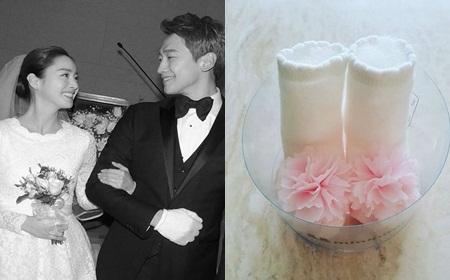 Bi (Rain) - Kim Tae Hee chào đón con gái đầu lòng - Ảnh 1