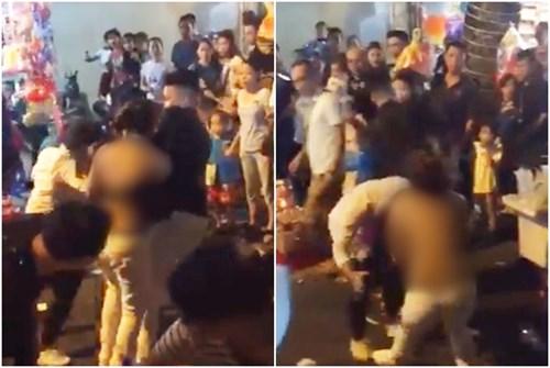 Hà Nội: Hai người phụ nữ ẩu đả tại phố Hàng Mã trong đêm Trung thu - Ảnh 1