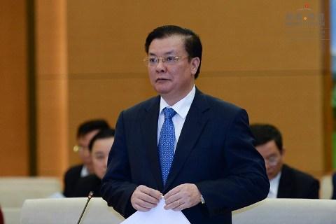 Sáng nay, Bộ trưởng Tài chính Đinh Tiến Dũng đăng đàn trả lời chất vấn trước Quốc hội - Ảnh 1