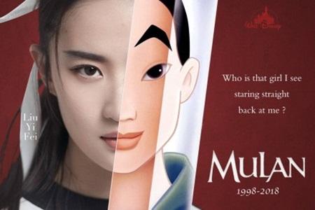 Lưu Diệc Phi sẽ vào vai Mộc Lan trong bản live-action của Disney - Ảnh 1