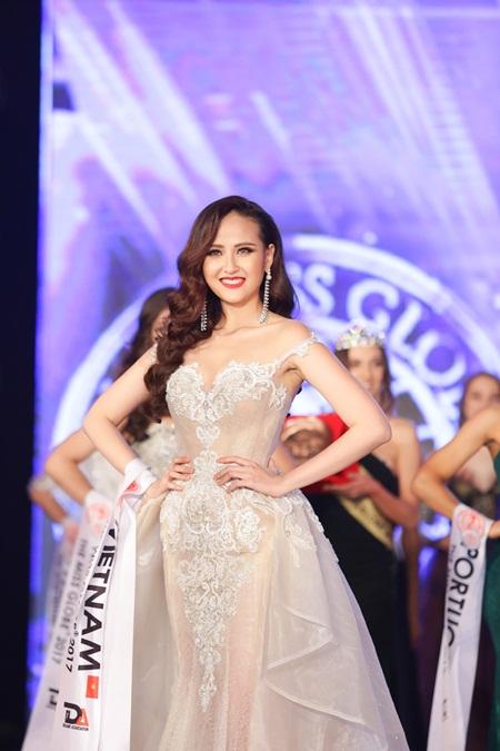 Tân Hoa hậu Hoàn cầu Khánh Ngân: Cơ hội đến thì phải nắm giữ - Ảnh 1