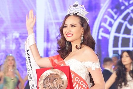 Tân Hoa hậu Hoàn cầu Khánh Ngân: Cơ hội đến thì phải nắm giữ - Ảnh 2
