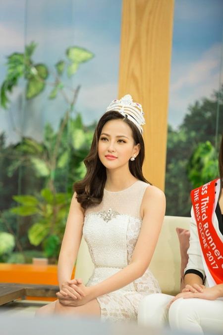 Tân Hoa hậu Hoàn cầu Khánh Ngân: Cơ hội đến thì phải nắm giữ - Ảnh 3