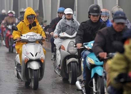 Dự báo thời tiết ngày 12/12: Miền Bắc mưa rét, miền Nam ngày nắng - Ảnh 1